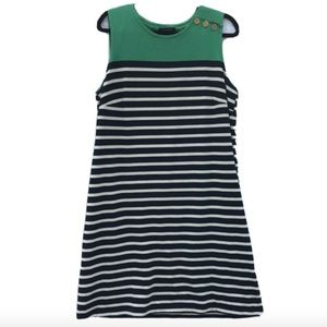 Lands' End knitted Dress L 14-16 sleeveless Casual